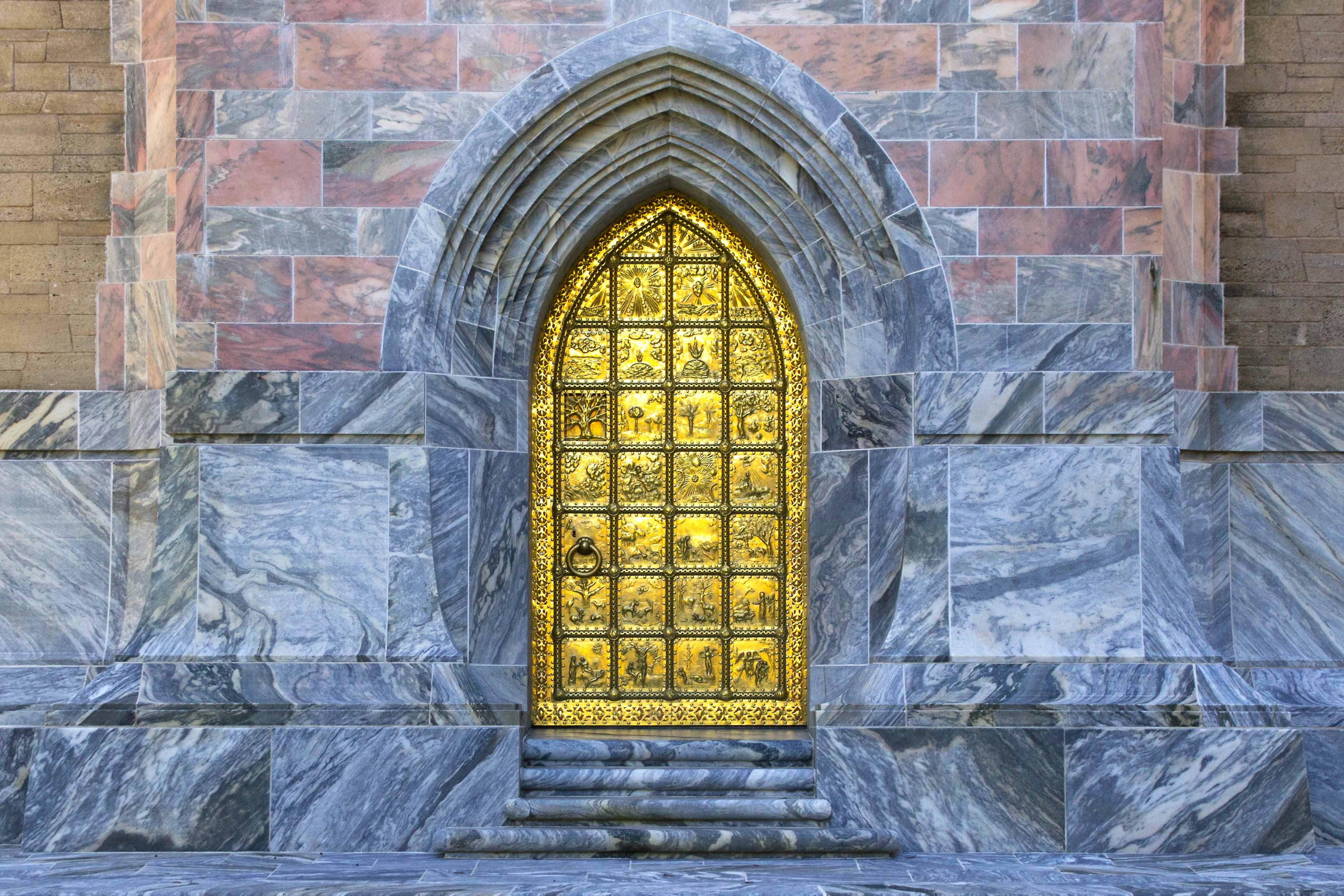 Published February 21 2012 at 4050 × 2700 in Bok Tower Door Genesis Scenes & Bok Tower Golden Brass Door   naturetime Pezcame.Com