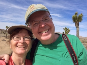 Richard and Pam at Joshua Tree