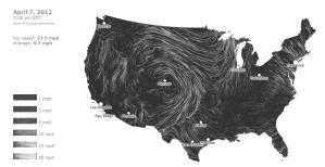 Real Time Wind Map