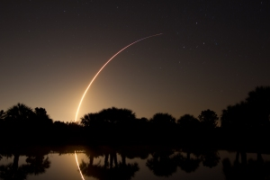 SpaceX Falcon 9 Rocket Launch on May 22, 2012