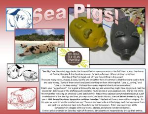 Sea Pigs Poster
