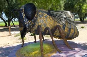 Honeybee Statue in Bee Garden