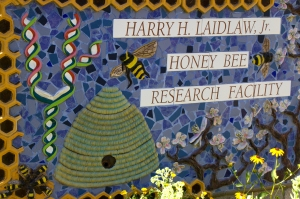 Honeybee Research Facility Entrance