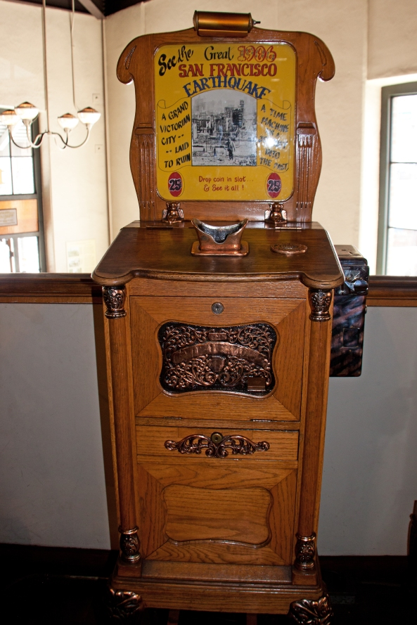 Antique Penny Arcade Machine Naturetime