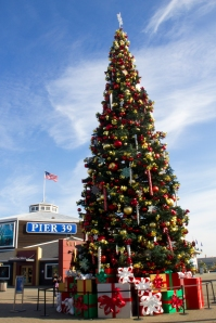 Christmas Tree at Fisherman's Wharf, San Francisco