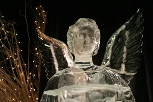 Ice Angel with Stars