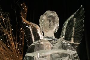 Ice Angel with Stars