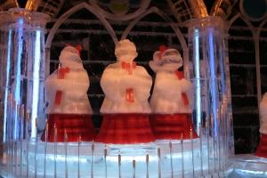 Ice Choir Closeup