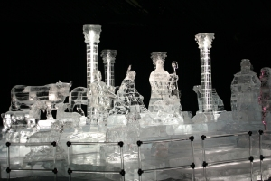 Ice Nativity