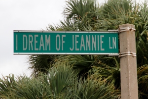 Former Cocoa Beach Street Sign in Honor of Show