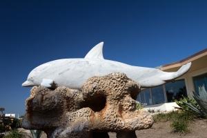 Vintage Dolphin Statue