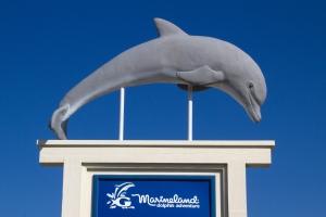 Marineland Entrance Sign