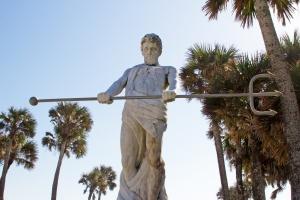 Vintage Neptune Statue