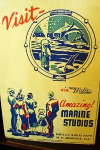 Vintage Marine Studios Sign