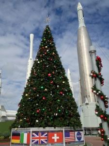 Christmas Tree at NASA Kennedy Space Center, Florida