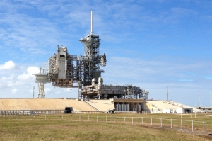 Closeup of Launch Pad 39A