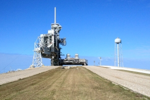 Crawler Trackway Leading to Launch Pad 39A