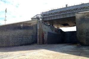 Flame Trench for Launch Pad 39A