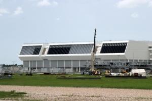 Launch Control Center Building Beside VAB
