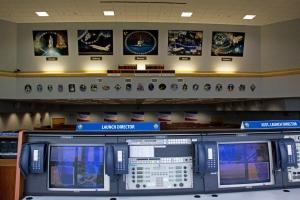 Launch Director's Desk Overlooking Floor