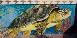 Sea Turtle Hospital Mural
