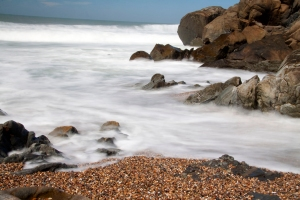 Pebble Beach - Long Exposure