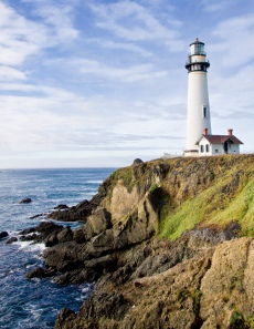 Scenic Pigeon Point Lighthouse