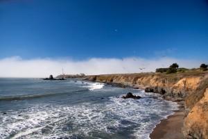 Pigeon Point Lighthouse Coastline
