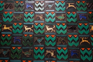 Colorful Animal Tiles