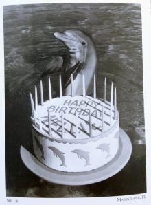 Vintage Postcard of Nellie's 20th Birthday Celebration