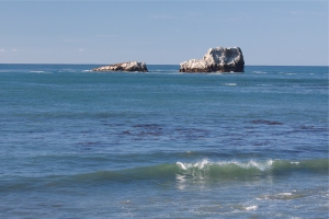 Piedras Blancas is Named after White Rocks Offshore