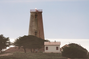 Piedras Blancas Lighthouse Tower with Beacon