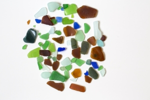 Overall Colorful Sea Glass Pieces