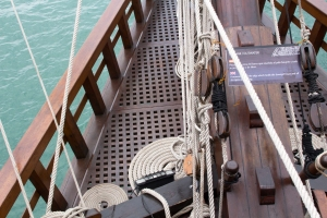 El Galeon: Wooden Deck