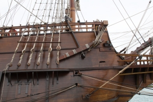 El Galeon:  Front of Ship