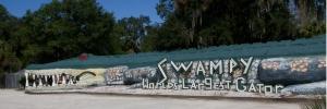 """Swampy, """"World's Largest Gator"""""""