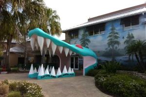 Gator Jaws Entrance to Gatorland