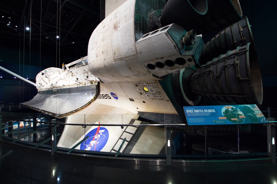 Space Shuttle Atlantis: Back View | naturetime