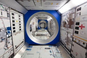 Simulated Crawl-Through Module for Space Walk