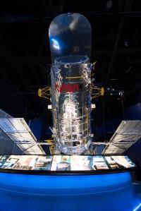Full Scale Model of Hubble Space Telescope