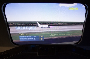 Space Shuttle Landing Simulator:  Score