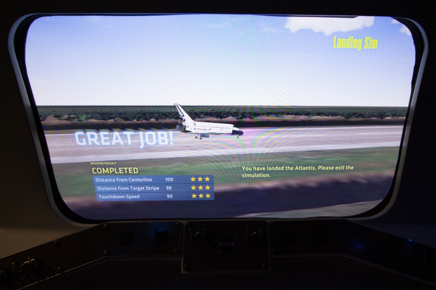 space shuttle landing simulator pc - photo #23