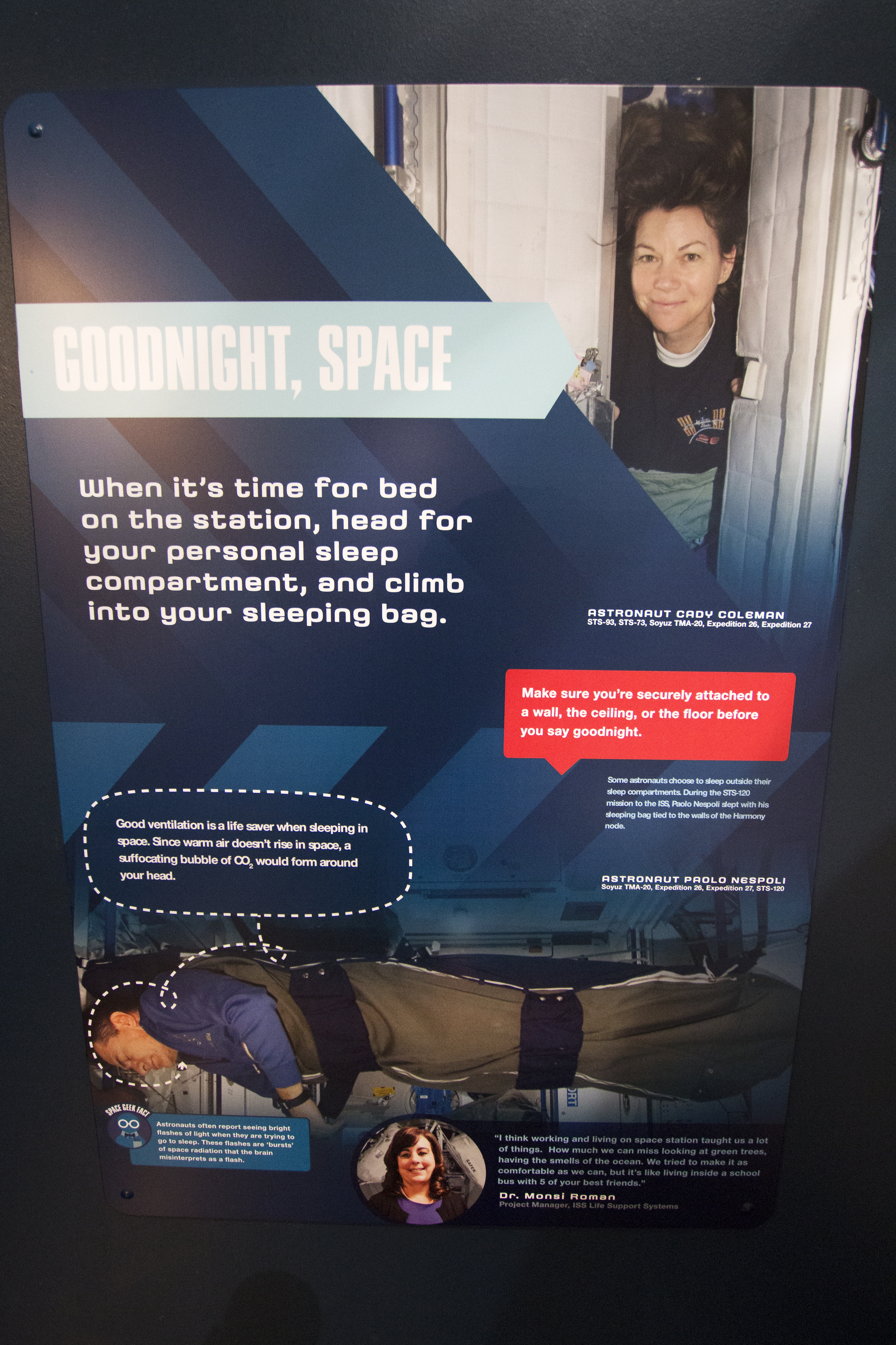 astronauts sleeping compartment - photo #48