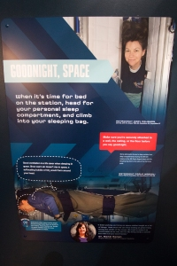 Sleeping in Space Sign