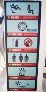 Astronaut Space Toilet Instructions