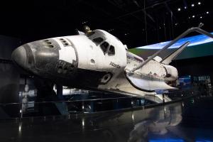 Space Shuttle Atlantis: Front View