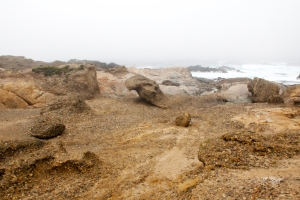 "Solid Rock ""Beach"" at End of Sea Lion Point Trail"