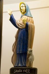 Statue of Santa Ynes