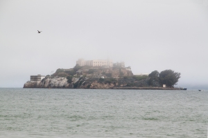 "Alcatraz Island - ""The Rock"" Front Side"