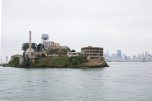 "Alcatraz Island - ""The Rock"" Back Side"